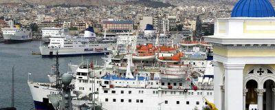 Pireuksen satama, Ateena.