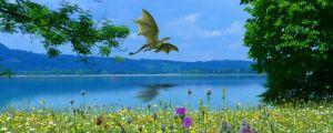 Lohikäärmeistä on moneen kuunnelmaan. Anna mielikuvituksesi lentää!