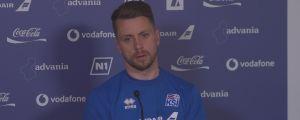 Kari Arnason hör till det rutinerade gardet för Island.
