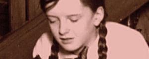 Koulutyttö Katarina Sibelius 1915