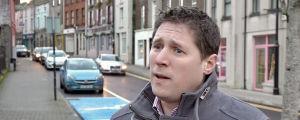 Matt Carthy, före detta EU-p.arlamentariker som nu sitter i Irlands parlament