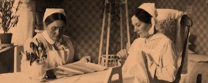 sairaanhoitajat Kivelän sairaalassa
