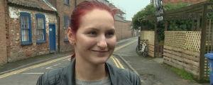 Karina från Polen tänker stanna i Boston