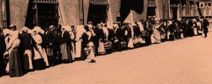 Ruokajono Helsingissä 1918