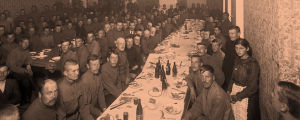 Venäläisiä sotilaita Turun kasarmilla maaliskuussa 1917