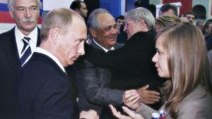 Putins kyss