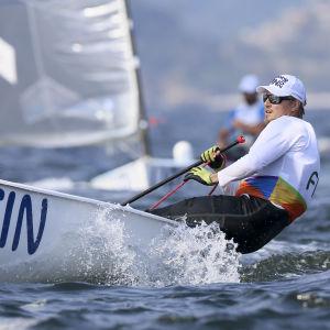 Finnjolleseglaren Tapio Nirkko slutade 15:e i OS-regattan i Rio.
