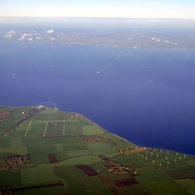 Sträcka mellan Tyskland och Danmark