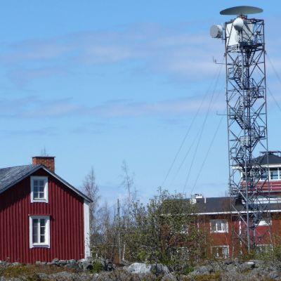 Valsörarnas sjöbevakningsstation i Korsholm