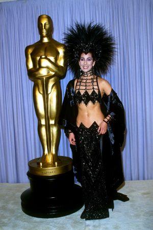 Cher på Oscarsgalan 1987