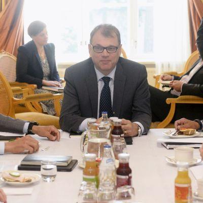 Alexander Stubb, Juha Sipilä och Lauri Lyly