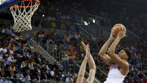 Anthony Davis gjorde 18 poäng på Gran Canaria.