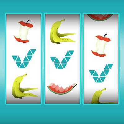 Kuvituskuva Veikkauksen hedelmäpelistä.