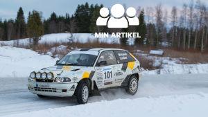 Edgar Wirtanens rallybil