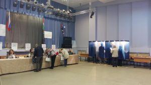 Lokalval har hållits i Ryssland