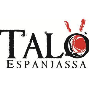 Talo Espanjassa -sarjan musta-punainen logo