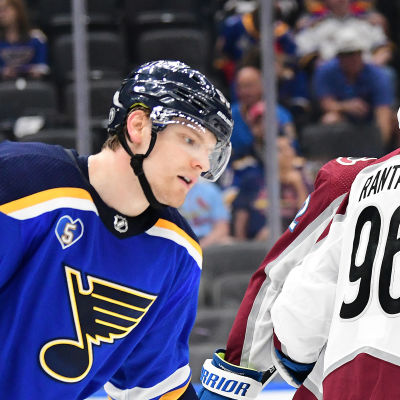 Mikko Rantanen och hans Colorado avancerar i NHL-slutspelet.
