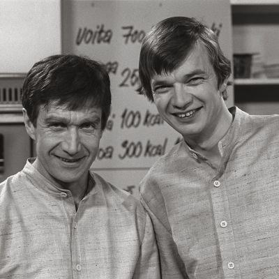 Keittiömestarit Veijo Vanamo ja Jaakko Kolmonen (1972)