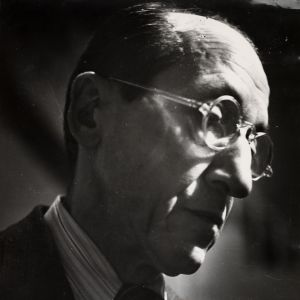 Cas Oorthuys, Portrait of Piet Mondrian
