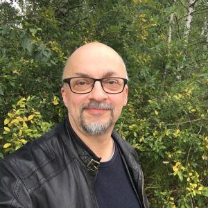 Selfie av Hans-Ove Lundqvist
