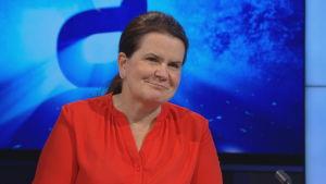 Eeva Ruotsalainen intervjuas i A-studio.