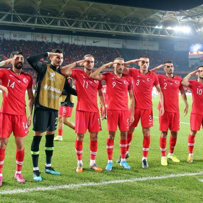 Turkin jalkapallomaajoukkue