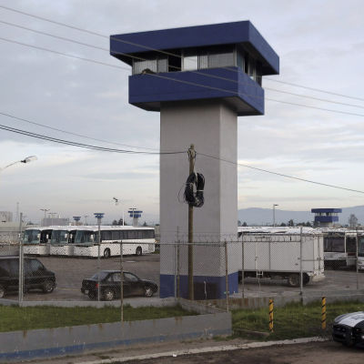 Knarkkungen Joaquin Guzman flydde från fängelset i Almoloya de Juarez i Mexiko.