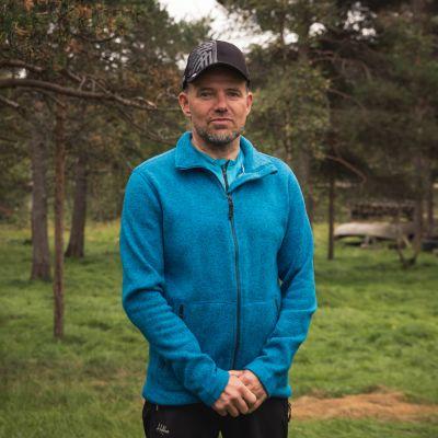 Kolttien luottamusmiesvaalien ehdokas Veikko Feodoroff