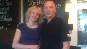 Monica Enqvist och Mats Sandström