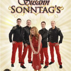 Dansbandet Susann Sonntag´s, Kenneth Wollsten, Johan Karlsson, Susann Sonntag, Kenneth Sonntag, Hans-Åke Manelius