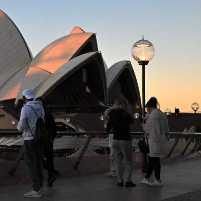 Vandringsstråket vid Sydneys operahus.