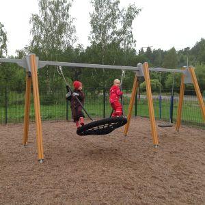 Spindelgunga i Koddervikens park