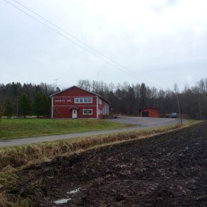 Svartå reningsverk är en liten byggnad bredvid Svartå FBK:s hus vid väg 186 (Ingå-Salovägen).