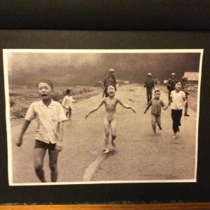 My Lain taistelun kuva Vietnamin sodasta - napalmin polttama tyttö.