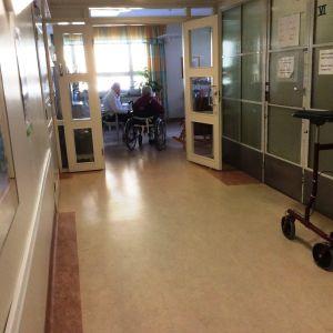 Lovisa hälsovårdscentral.