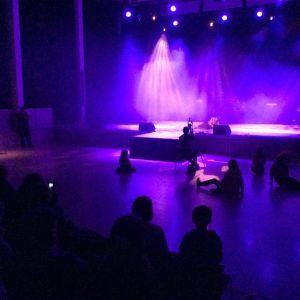 Olivia Kurki framförde delar av Tusen och en natt
