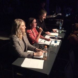 De tre domarna gav alla deltagare en sakkunnig kritik