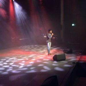 Mustafa Hilmi uppträdde med irakisk folkmusik