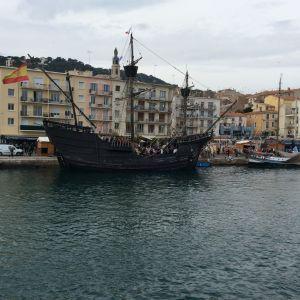 Sète, satamakaupunki Etelä-Ranskassa