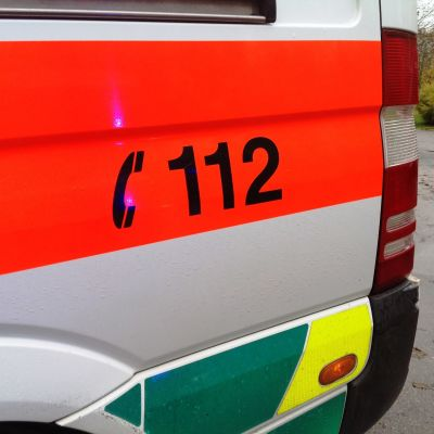 nödnumret på en ambulans