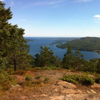 Utsikt från Skuleberget