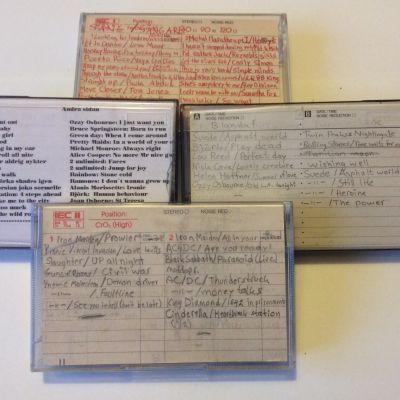 Lasse Grönroos gamla c-kassetter