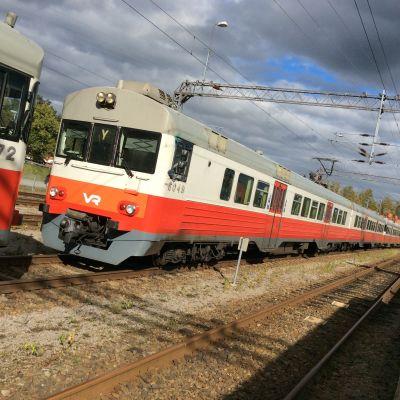 Y-tåget på Karis tågstation