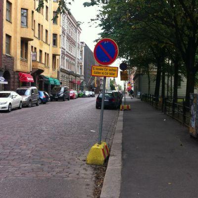 Annegatan i Helsingfors.