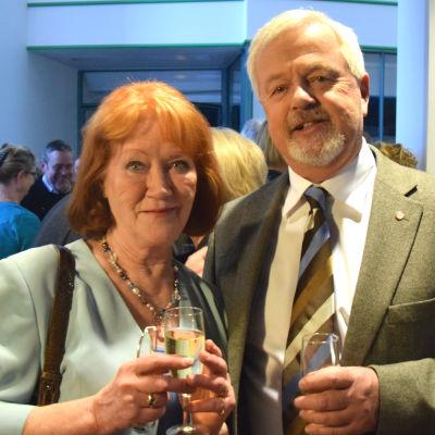 Monica Welling och Kristian Ulfstedt.