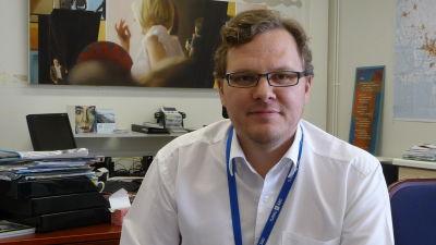 Niko Kyynäräinen, näringsdirektör Niko Kyynäräinen på Åboregionens utvecklingscentral.