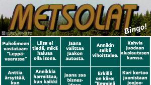Metsolat-bingo