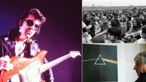 Kollaasi Teeman kesän 2019 rockdokumenteista