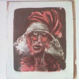 Bild på konstverk av tyska Otto Dix.