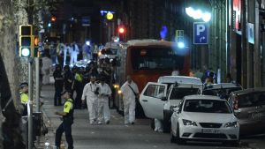 La Rambla i Barcelona efter terrorattacken.